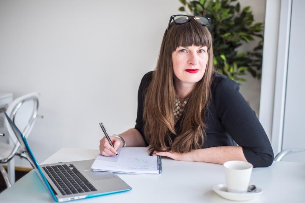 Headshot of Katherine Wildman, Copywriter