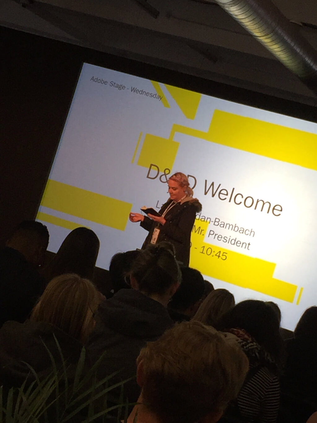 Welcome to D&AD 2017 by Laura Jordan Bambach