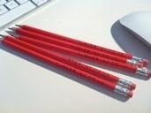 Sarah Turner's branded Turner Ink pencils for her to do list