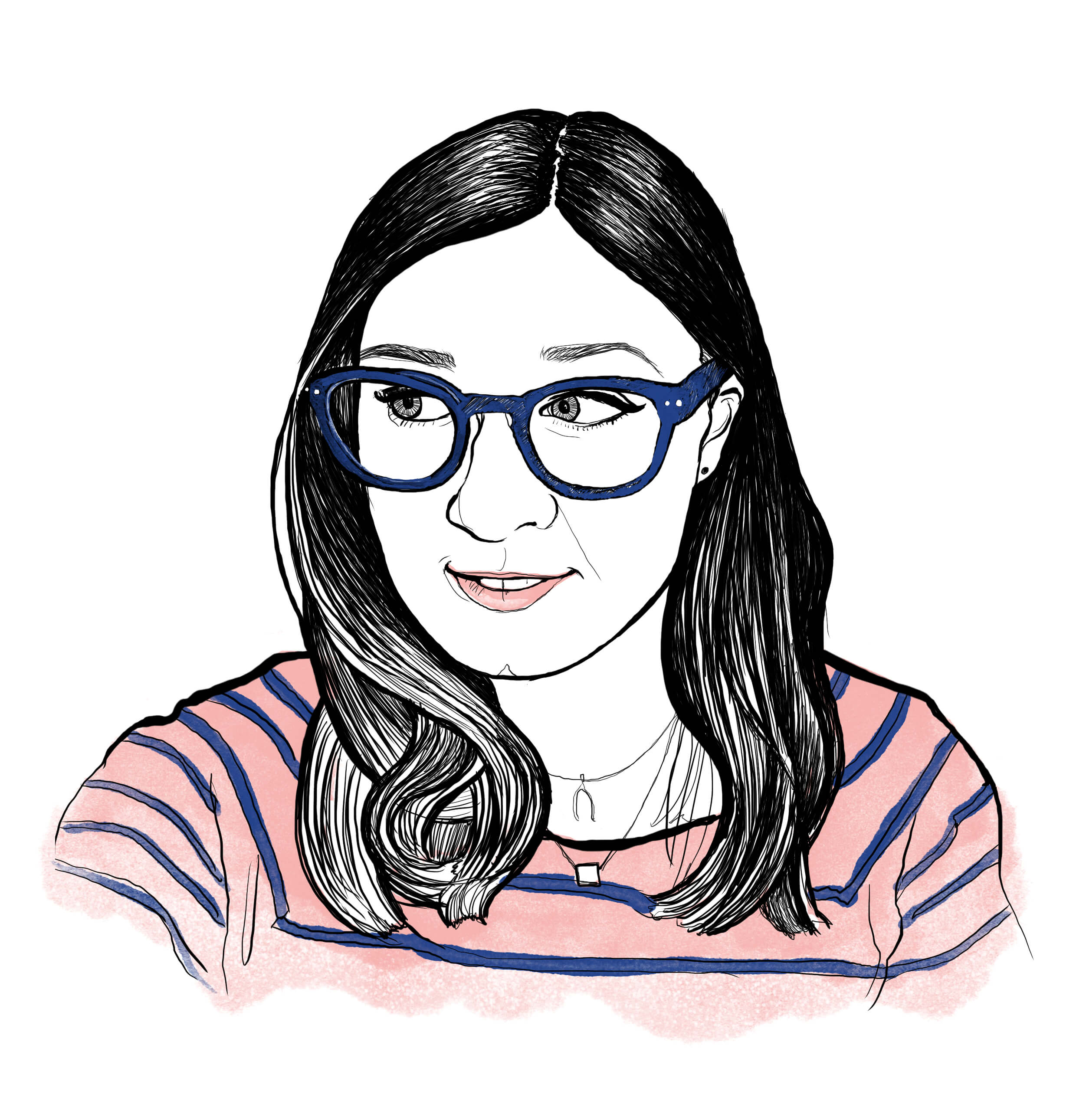 Freelance copywriter Ellen Holcombe