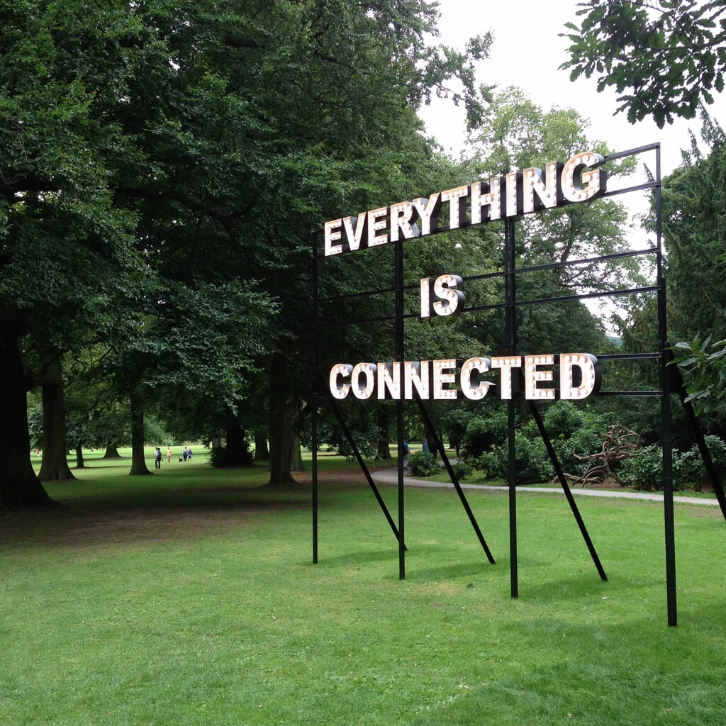 Everything is connected artwork