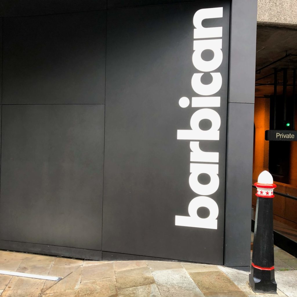 The Barbican Silk Street Entrance